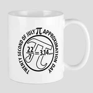 Pi Approximation Day, 22/7 Mugs
