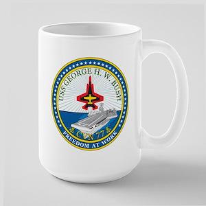 Uss George Hw Bush Cvn 77 Mugs