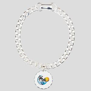 Tropical Charm Bracelet, One Charm