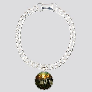 Medievel Castle Charm Bracelet, One Charm