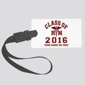 Class of 2015 Girl Soccer Large Luggage Tag