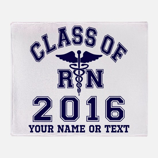 Class Of 2016 RN Throw Blanket