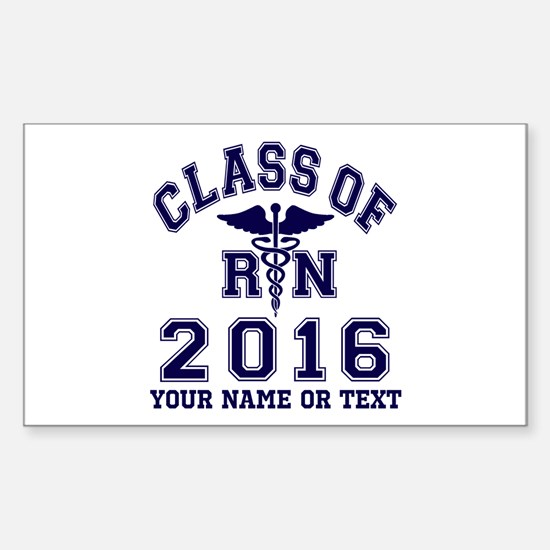 Class of 2015 Girl Soccer Sticker (Rectangle)