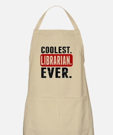 Coolest. Librarian. Ever. Apron
