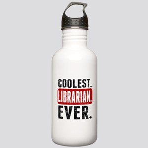 Coolest. Librarian. Ever. Water Bottle