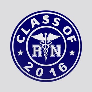 Class Of 2016 RN Ornament (Round)