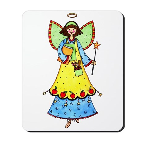 Education Angel Mousepad