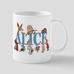 Alice in Wonderland and Friends Mug