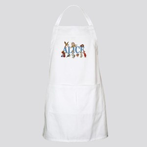 Alice in Wonderland and Friends Apron