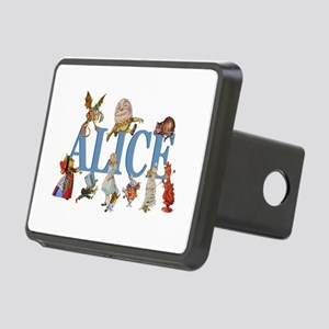 Alice in Wonderland and Fr Rectangular Hitch Cover