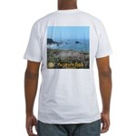 Portuguese Beach Fitted T-Shirt