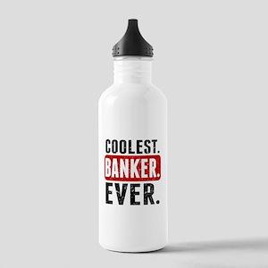 Coolest. Banker. Ever. Water Bottle