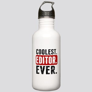 Coolest. Editor. Ever. Water Bottle