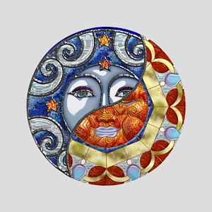 Harvest Moons Sun & Moon Yin Yang Button