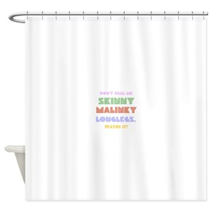 Skinny Shower Curtains