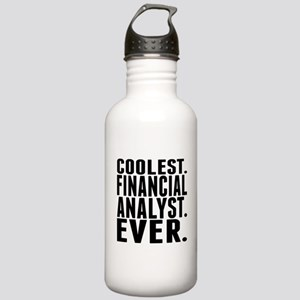 Coolest. Financial Analyst. Ever. Water Bottle