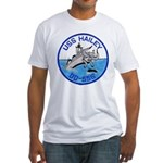 USS HAILEY Fitted T-Shirt