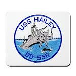 USS HAILEY Mousepad