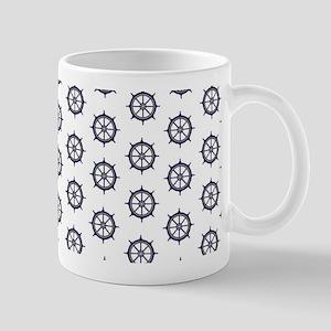 Captain's Wheel Small - Reversible Mug
