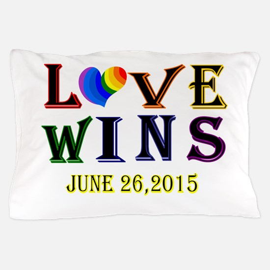 #lovewins Pillow Case
