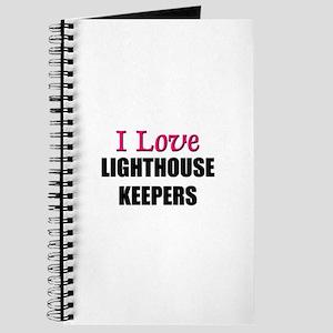 I Love LIGHTHOUSE KEEPERS Journal