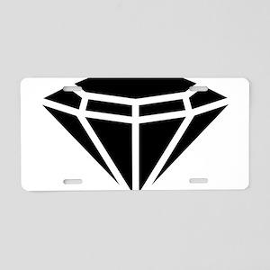 Diamond Aluminum License Plate