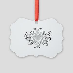 Knight of Infinite Faith Picture Ornament