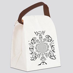 Knight of Infinite Faith Canvas Lunch Bag