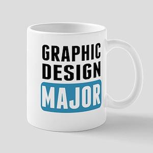 Graphic Design Major Mugs
