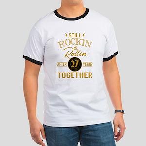 Still Rockin Rollin After 27 Years Togethe T-Shirt
