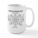 Knight of Infinite Faith Mugs