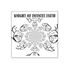Knight of Infinite Faith Sticker