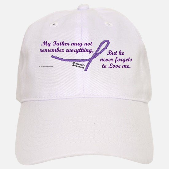 Never Forgets To Love (Father) Baseball Baseball Cap
