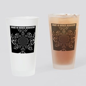 Knight of Infinite Resignation Drinking Glass