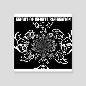 Knight of Infinite Resignation Sticker
