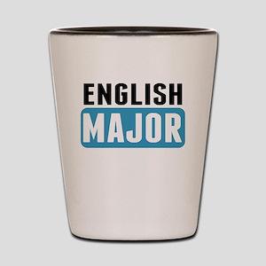 English Major Shot Glass