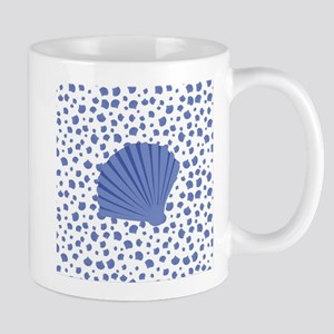 Sea Shells - Light Blue Mug