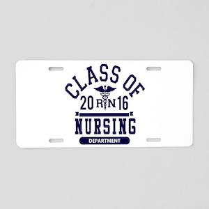 Class Of 2016 RN Aluminum License Plate
