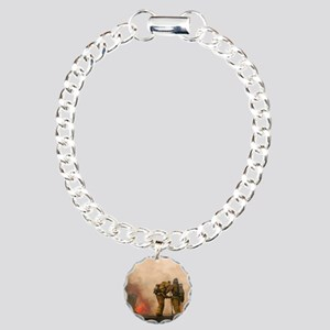 Sounding the roof. Charm Bracelet, One Charm
