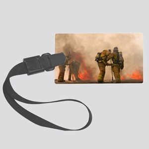 Sounding the roof. Large Luggage Tag