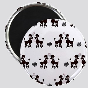 French Poodles Magnet
