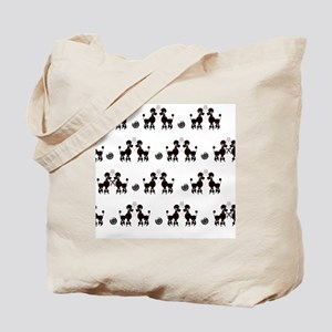 French Poodles Tote Bag