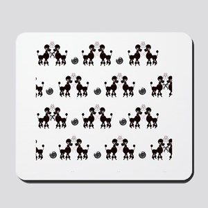 French Poodles Mousepad