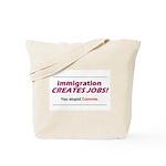 Immigration Tote Bag