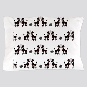 French Poodles Pillow Case