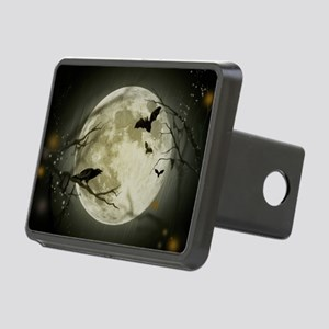 Halloween Scene Rectangular Hitch Cover