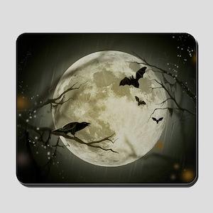 Halloween Scene Mousepad