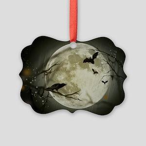 Halloween Scene Picture Ornament