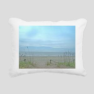 Seascape Dreams Rectangular Canvas Pillow
