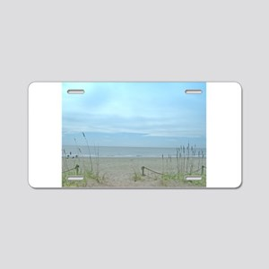 Seascape Dreams Aluminum License Plate